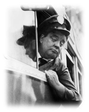Ralph Kramden on the bus