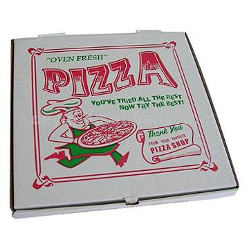 Pizza Box Tried Rest Try The Best