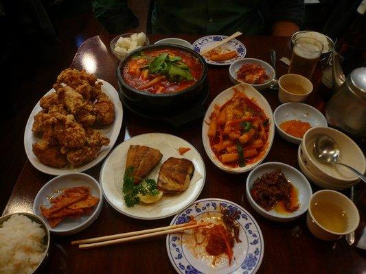 Huge Meal