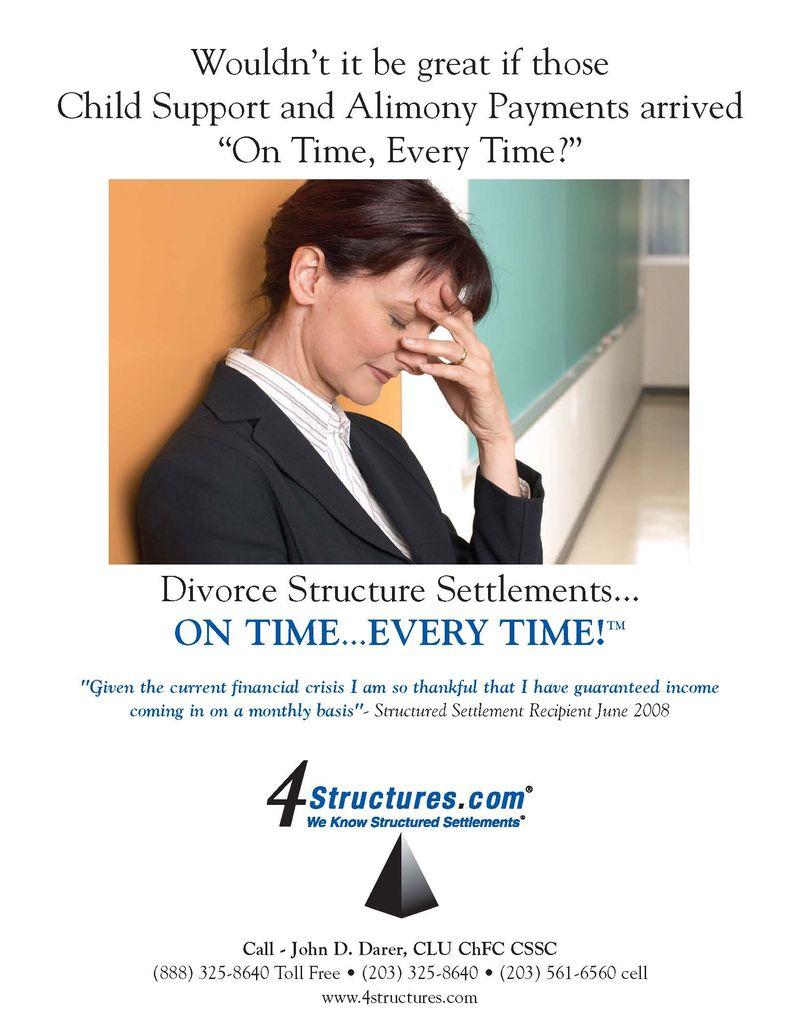 55414 4 Structures Ads-Divorce Structured Settlements