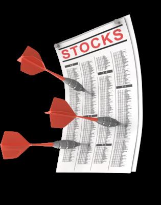 Darts and stock picking
