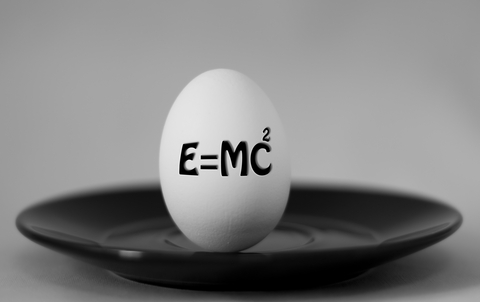 E equals MC squared