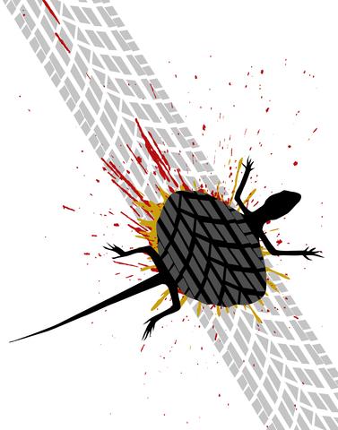 Bug splat structured settlement social media road kill