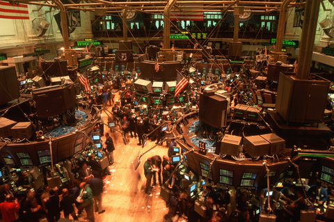 New York stock exchange- the image of what an exchange is