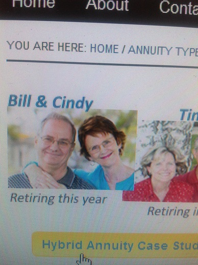 Annuity Guys Bill and Cindy Close up 9-28-2014