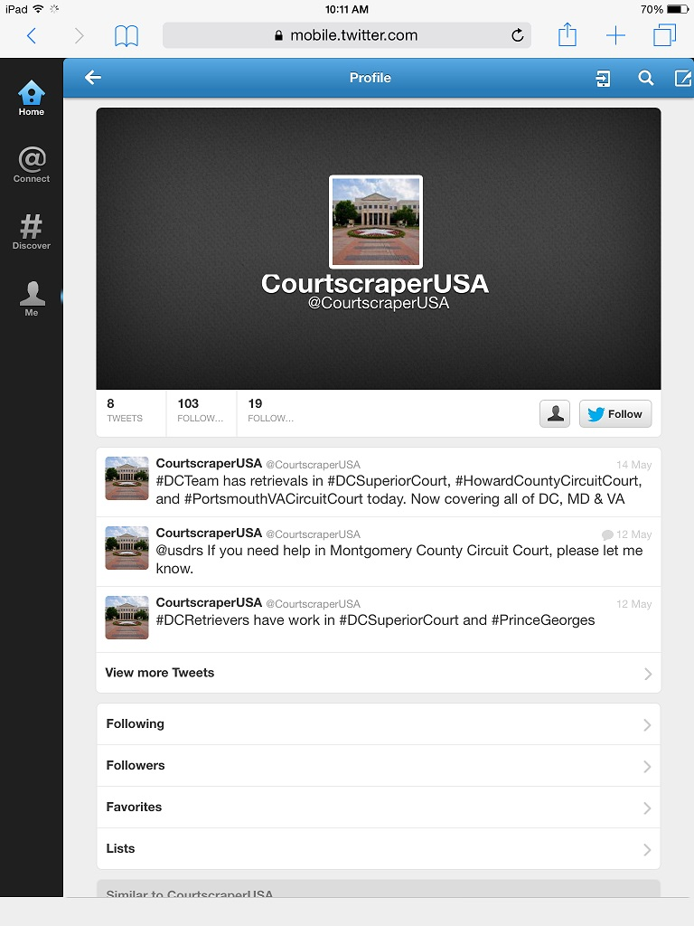 Courtscraper USA LOL