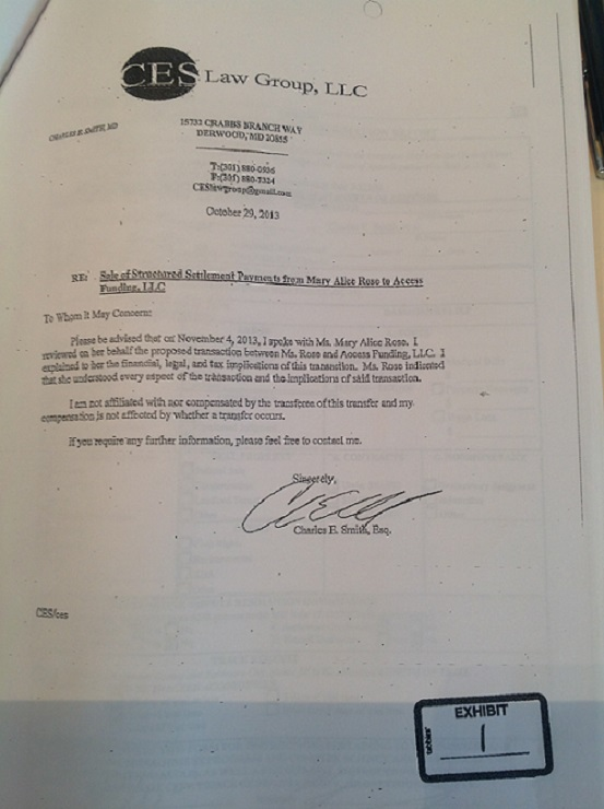 CES Law Group Derwood Maryland Charles Smith IPA lawsuit