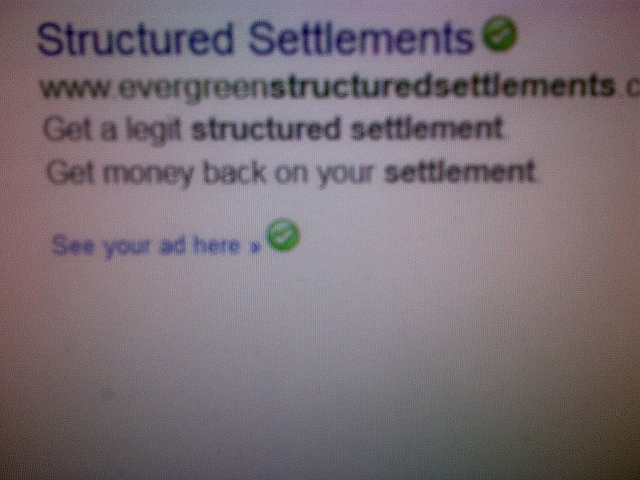 Evergreen Structured Settlements