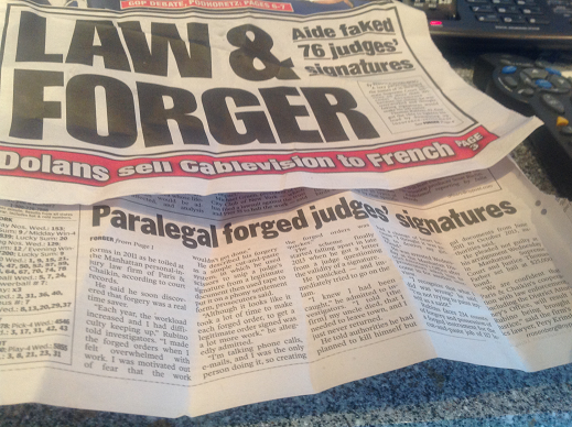 Paris Chaikin paralegal forged 76 judges signatures Front Page News