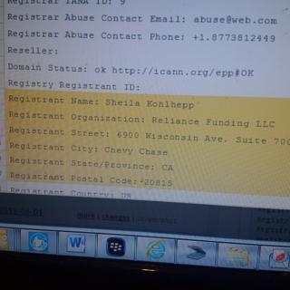 Reliance Funding LLC same address as Access Funding