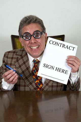 Sleazy notary public