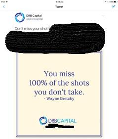 DRB Capital Predatory Advertsing Using Gretzky