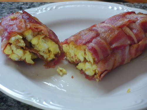 Bacon-Egg-and-Cheddar Wrap