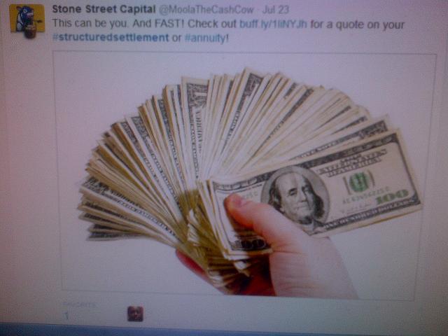 Stone Street Capital Ben Dover 7-27