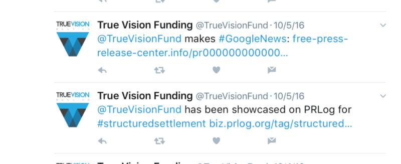 True Vision Funding selfie showcase