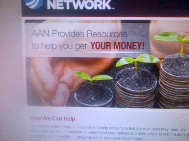 Annuity Action Network-Dirty Money Ad