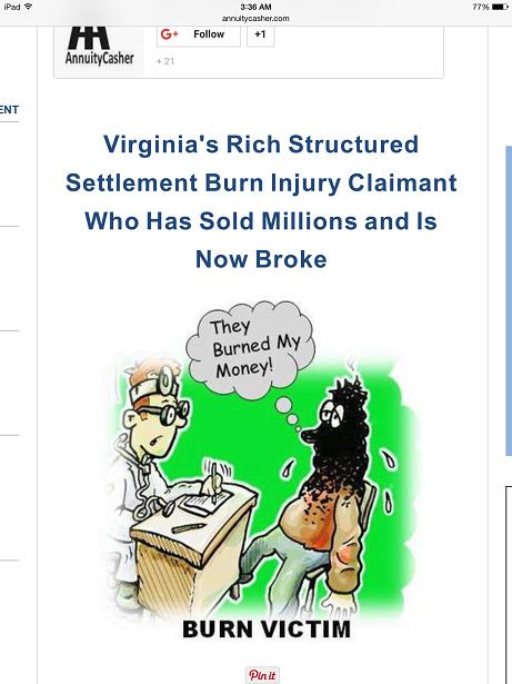 Annuity Casher Adler's Insurance Agency Tasteless