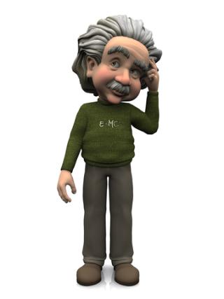 Einstein puzzled