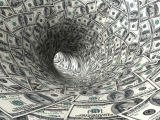 Money flows