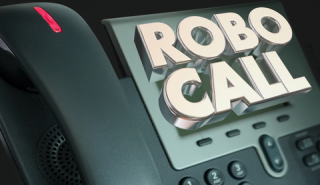 Robocall about structured settlement