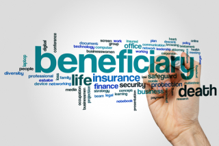 Structured settlement beneficiary