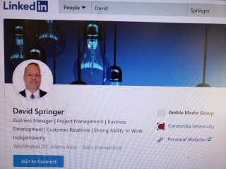 David S Springer Linkedin 2-2-20