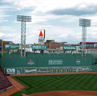 The Green Monster Boston Fenway Park