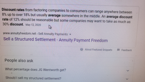 Annuityfreedom net discount rates