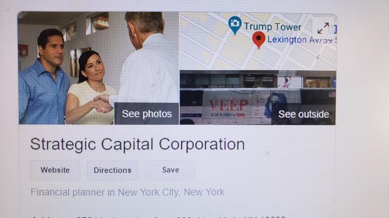 Strategic Capital financial planner question
