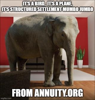 Structured settlement mumbo jumbo