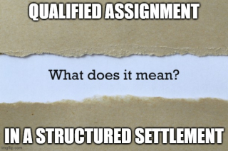 What is a qualified assignment