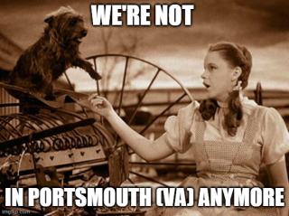 Dorothy and Toto were not in kansas either