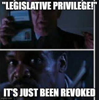 Legislative privilege